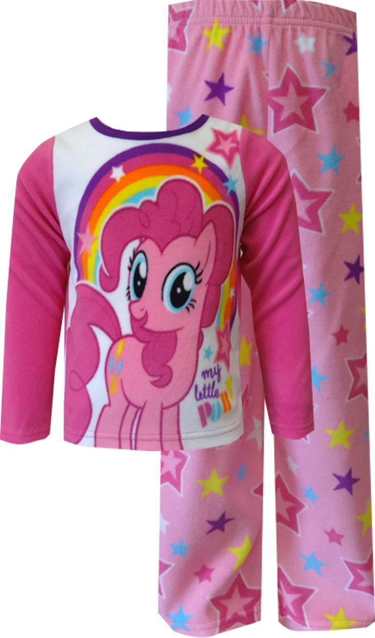 My little pony pinkie pie fleece toddler pajama