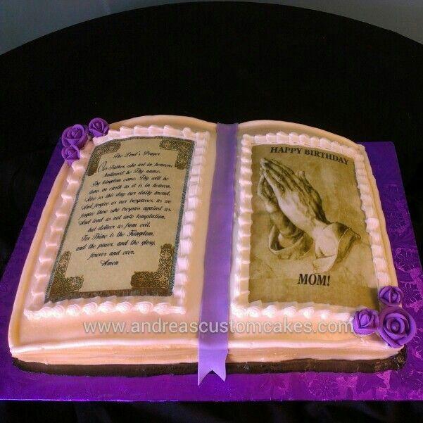 Bible cake Birthday Cakes Pinterest Bible cake and Cakes