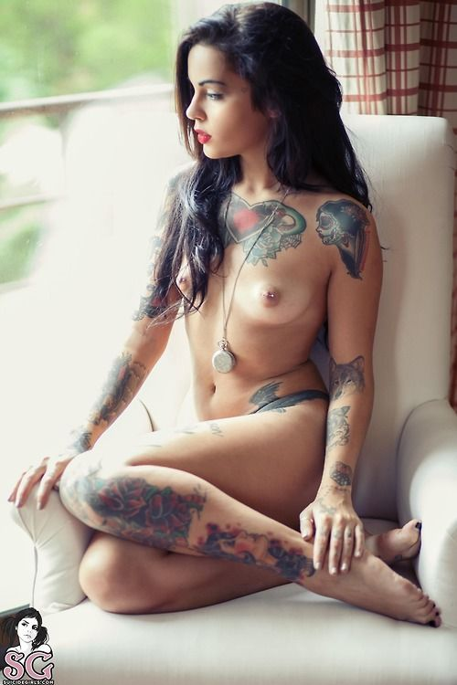 Girls with tatoos naked you talent