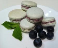 Blueberry Macarons - Recipe Community