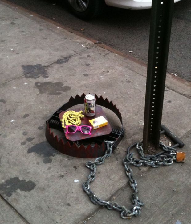 Hipster Trap @Kat Larsen, you know what's up. Although why you'd ever want to purposefully catch a hipster, I don't know.