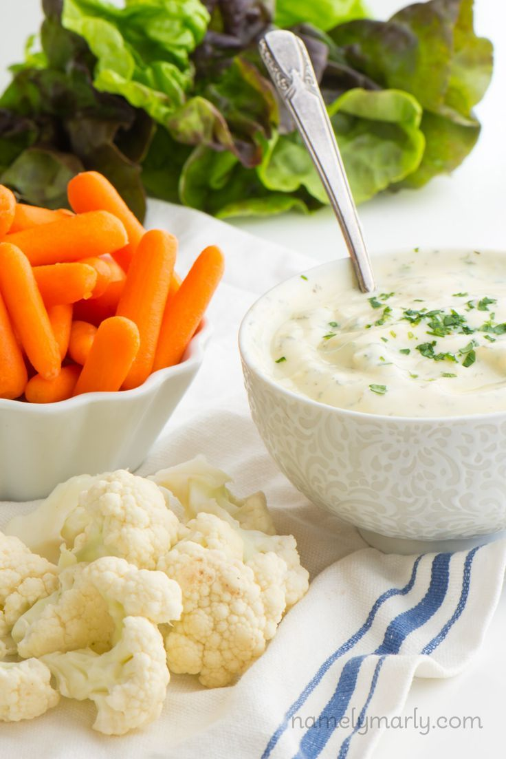 If you're into creamy, savory, dips, you're going to love this Healthy Vegan Yogurt Ranch Dip. It's a healthy, but delicious version of your favorite dip!