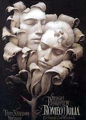 romeo and juliet: Graphic Design, Ideas, Romeo And Juliet, Poster Design, Polish Posters, Wieslaw Walkuski, Inspiration, Poster Art