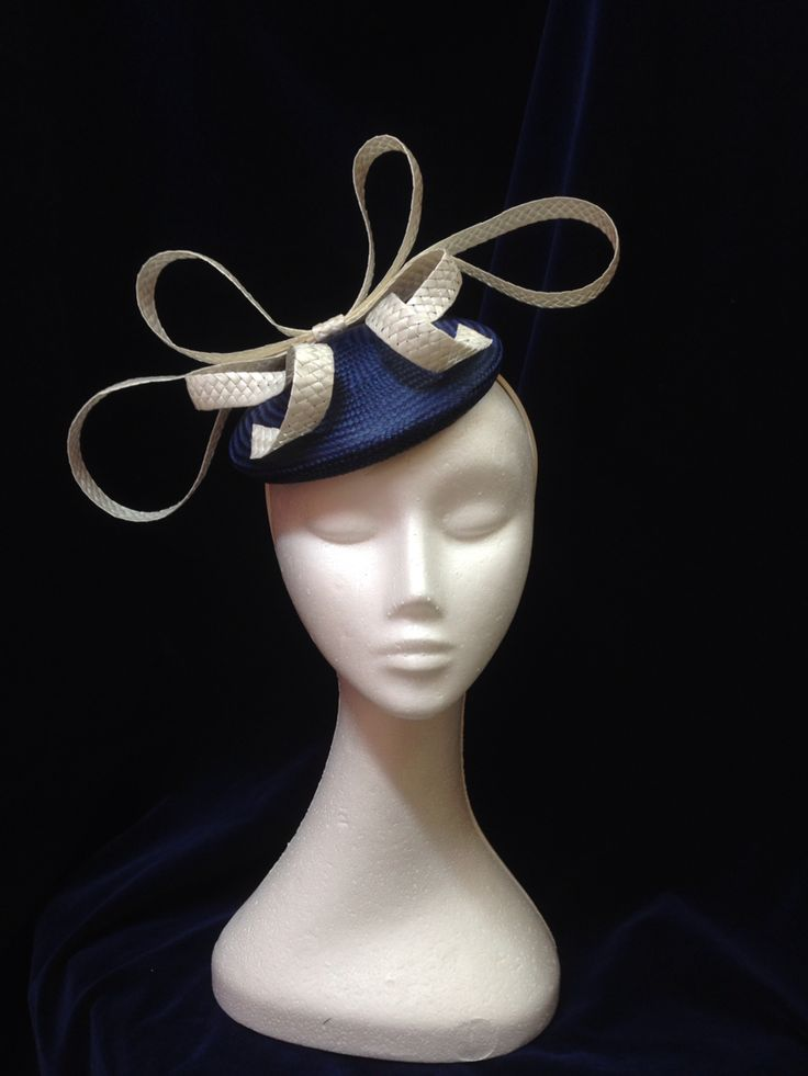 Bow Me Away headpiece by Melissa-Gaye Designs  #millinery#hats#fashionsonthefield#melbournecup
