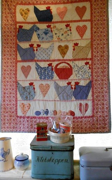 17 best ideas about chicken quilt on pinterest patchwork for Kitchen quilting ideas