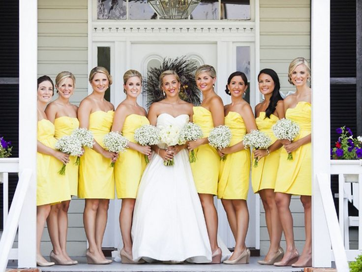 78 Best ideas about Yellow Bridesmaid Dresses on Pinterest  Lemon ...