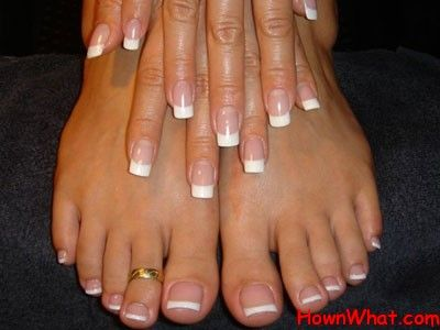 Shape Your Nails Square By Buffing Them With A Nail File Tips And Technique To Get Perfect Shapes For Finger Look Hair Beauty That I Love In