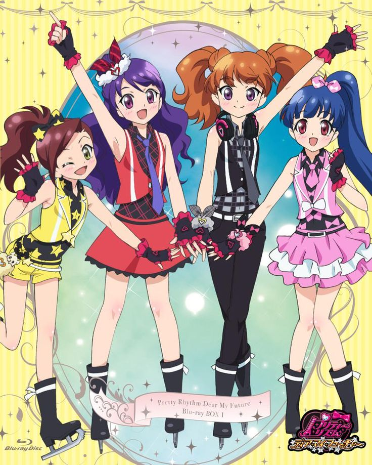 Pretty Rhythm: Dear My Future - Mia, Reina, Karin, and Ayami