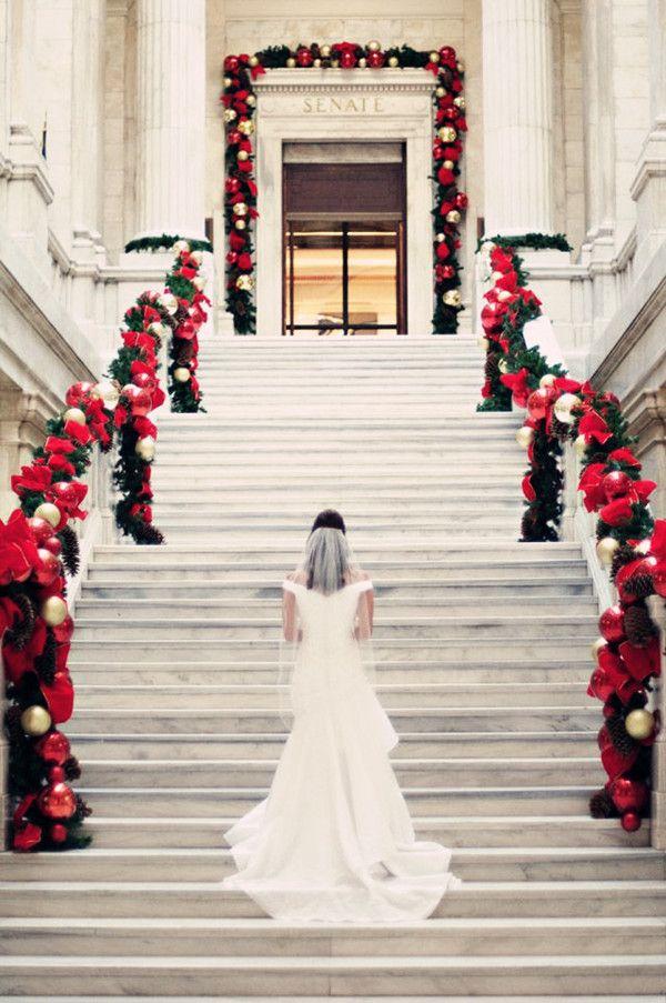 ideas about Christmas Wedding Decorations on Pinterest Diy