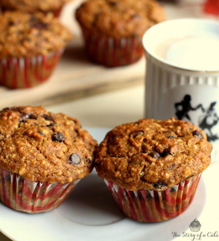 tekvicove celozrnné muffiny