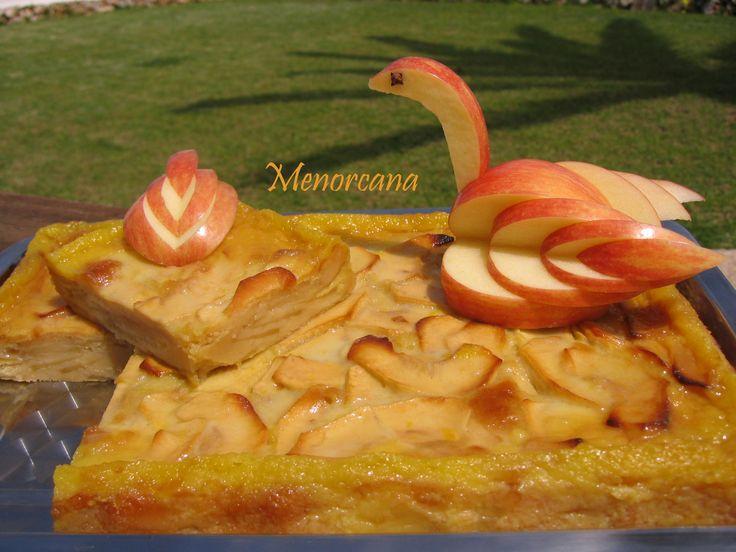 Tarta mil hojas de manzana