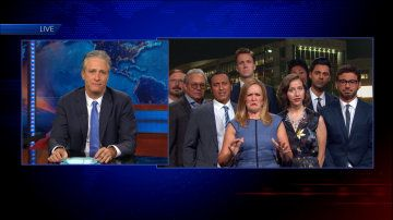 A Send-Off From Stephen Colbert - The Daily Show - Video Clip | Comedy Central