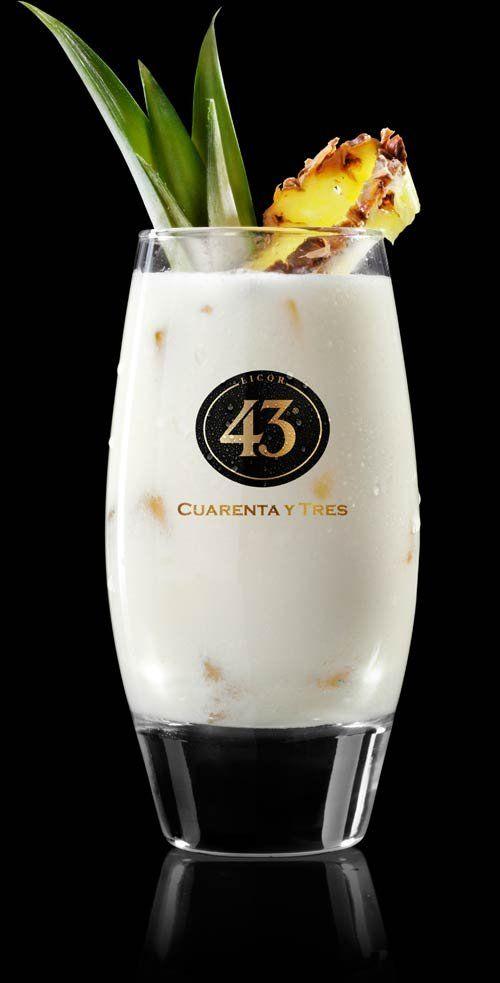 Puur Recepten - Licor 43 Piña Colada
