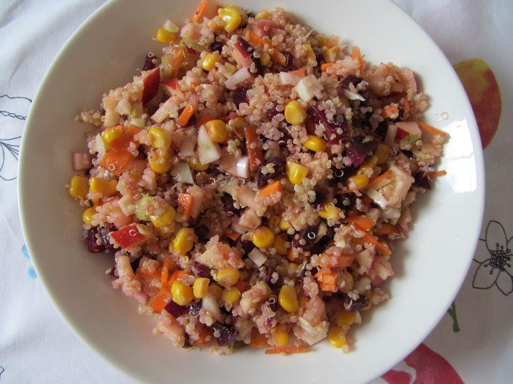 Quinoa salade met biet en venkel