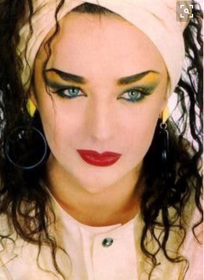 Actually, Boy George would have been my boyfriend! That's just the kind of guys I was in to. Weird, I know, but hey, it was the'80's.