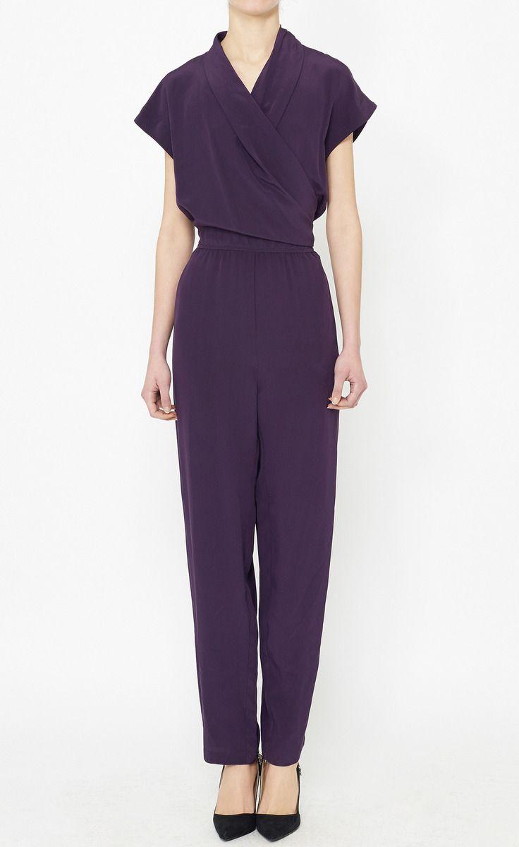Tucker Purple Jumpsuit