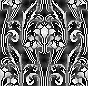 Ravelry: Art Nouveau Folie pattern by Renata Brenner