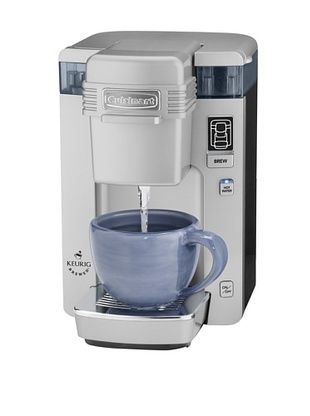 Cuisinart Compact Single-Serve Coffeemaker (Silver) #coffeelovers