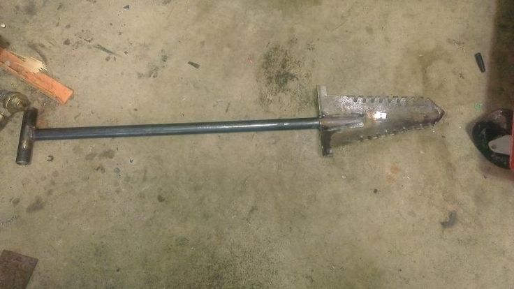 I don't buy what I can BUILD!!! Shovel DIY... - Friendly Metal Detecting Forums