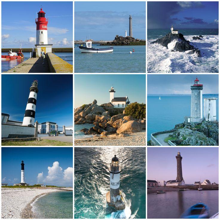 Posté à la pointe de l'Europe, le Finistère se singularise par ses nombreuses et majestueuses pointes que jalonnent des phares légendaires, vigies intemporelles et témoins de ces histoires de marins qui habitent l'esprit des lieux. | Finistère | Bretagne | #myfinistere