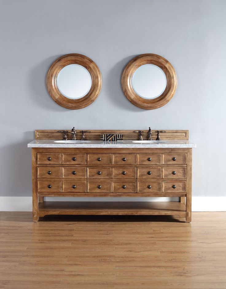 malibu james martin honey alder bathroom vanity double sink for master bath - Wayfair Bathroom Vanity