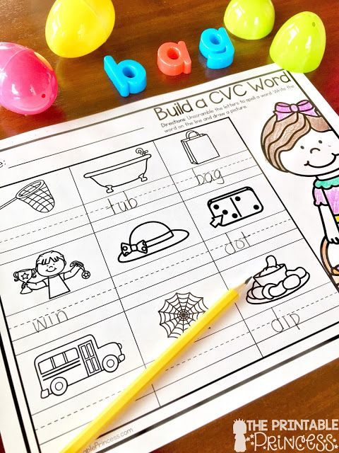 Tons of great LITERACY ideas using plastic Easter eggs in the classroom. There's CVC words, word families, rhyming words, real / nonsense words, and so much more. Plus there's some FREE recording sheets included! Click through to check it out.