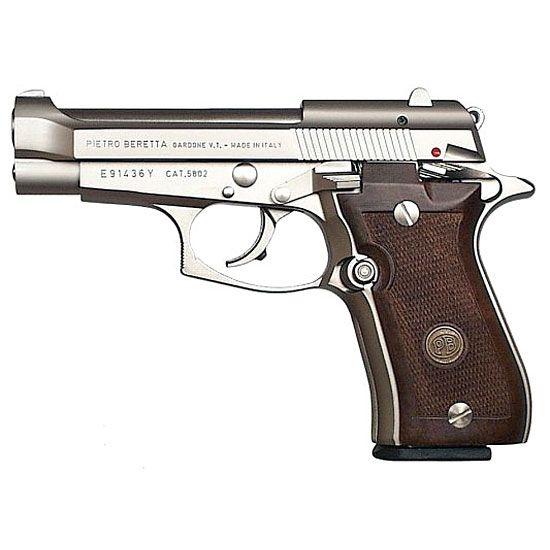 Beretta 84FS Cheetah  .380 ACP 13 round capacity 3.8″ nickel chromium-molybdenum steel barrel Chromed bore Double/single action