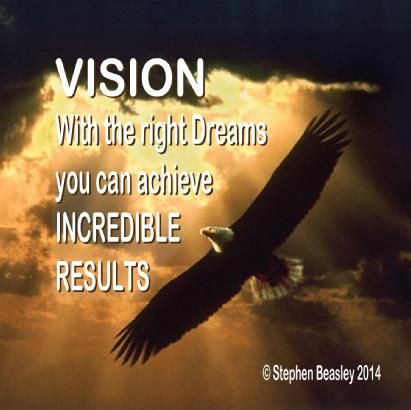 Vision is the ability to see beyond the mediocre, and to believe that our lives can make a difference to this generation, and those to come!