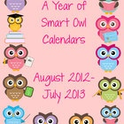 By request, calendar templates to match my smart owl newsletters $