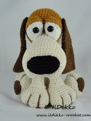 Butch the Basset – Amigurumi Crochet Pattern