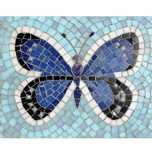 Adonis Butterfly Mosaic Kit Martin Cheek Butterfly