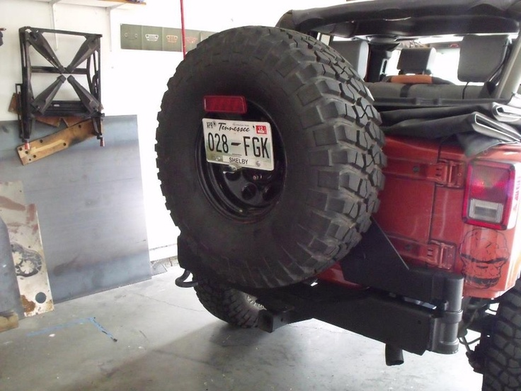 h2 tire carrier on a JK: H2 Hummer, Tired Carrier, Wranglers Ideas, Singe Sw Tired, Carrier H2, Vehicles Products, H2 Tired, Jeeps Wranglers