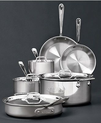 1000 images about stainless steel cookware set on for Sur la table mixing bowls