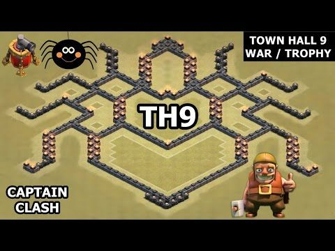 coc th9 war base defense town hall 9 war base clash of clans town - Layout Cv 4 Clash Of Clans