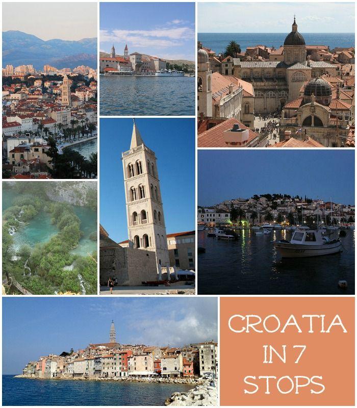 Around Croatia in 7 Stops