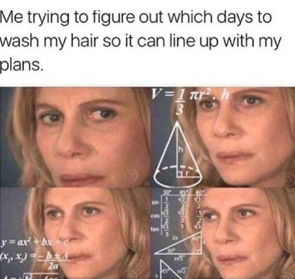 Sobald Sie eine Haarspange in Ihr Haar gesteckt haben, ist es für immer verloren.