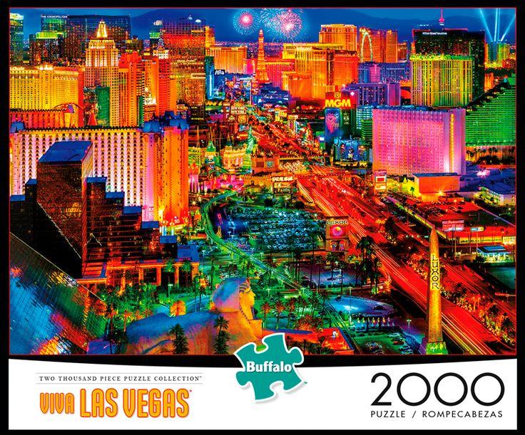 Viva Las Vegas 2000 Piece Jigsaw Puzzle in 2020 Viva las