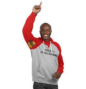 G-III NHL® Chicago Blackhawks Men's Hands High Fleece Hoodie