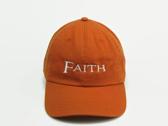 Hey, I found this really awesome Etsy listing at https://www.etsy.com/listing/290629061/custom-baseball-hat-embroidered-faith