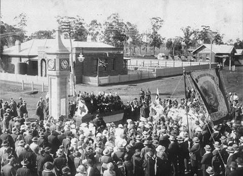 Bogan Gate, 1920, Anzac Day