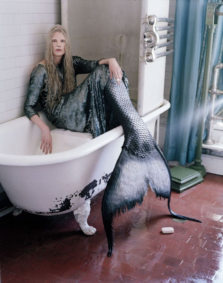 Far Far From Land - Marc Jacobs gown; Armor body chain; Dior ring. Beauty note: Restore hair's luster with Goldwell Dual Senses Rich Repair 60 Sec Treatment.