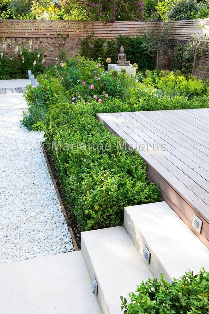 Family Garden In Putney South West London Small Garden Design Sloped Garden Garden Design