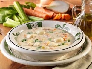 Olive Garden's Chicken and Gnocci Soup  This soup is AMAZINGLY AMAZING!!!!!