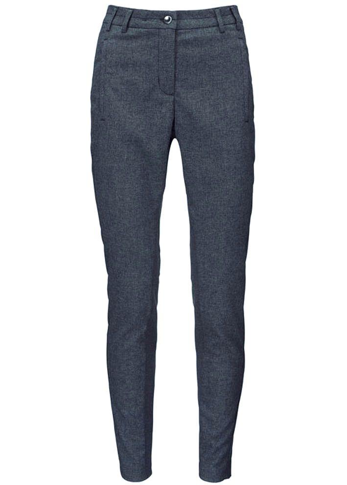 Gustav Bukser blå 20034 Stretch Pants deep blue – Acorns