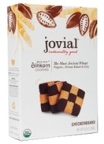 Jovial Checkerboard Einkorn Organic Cookies, 8.8-Ounce (Pack of 6)