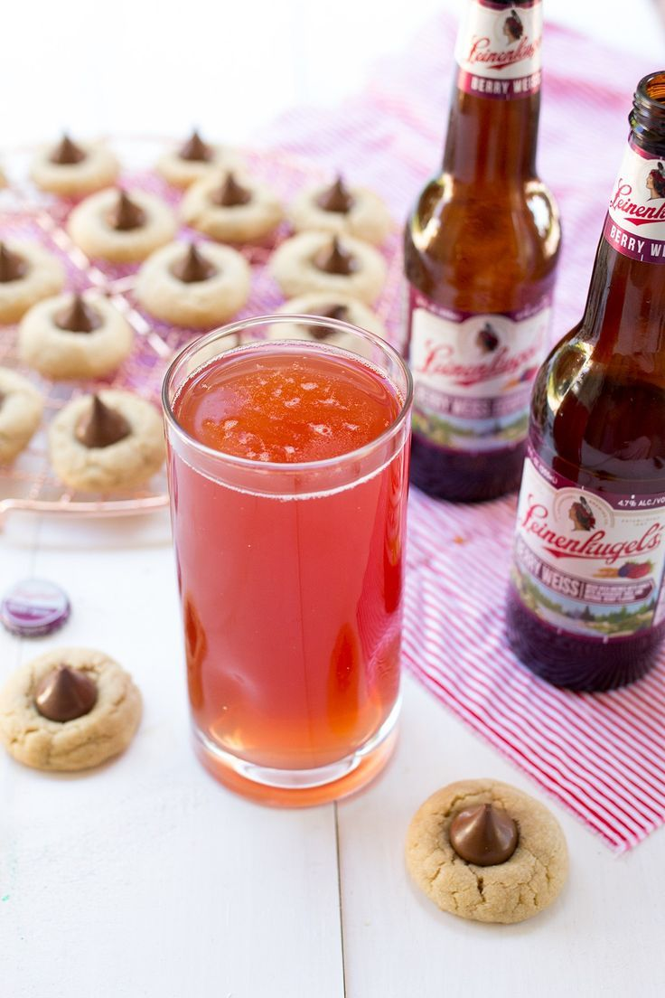 Beer And Cookie Pairing Genius I M Sharing A Recipe For My Favorite Peanut Butter Blossoms Paired Wit Delicious Drink Recipes Easy Drink Recipes Beer Recipes