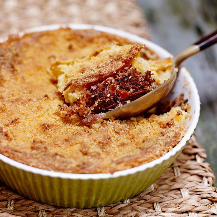 Découvrez la recette Parmentier au confit de canard sur cuisineactuelle.fr.