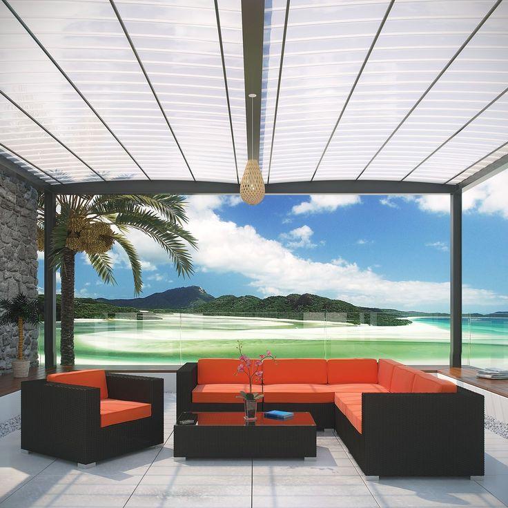 corona outdoor rattan 7piece furniture set overstock shopping big discounts on modway - Overstock Patio Furniture