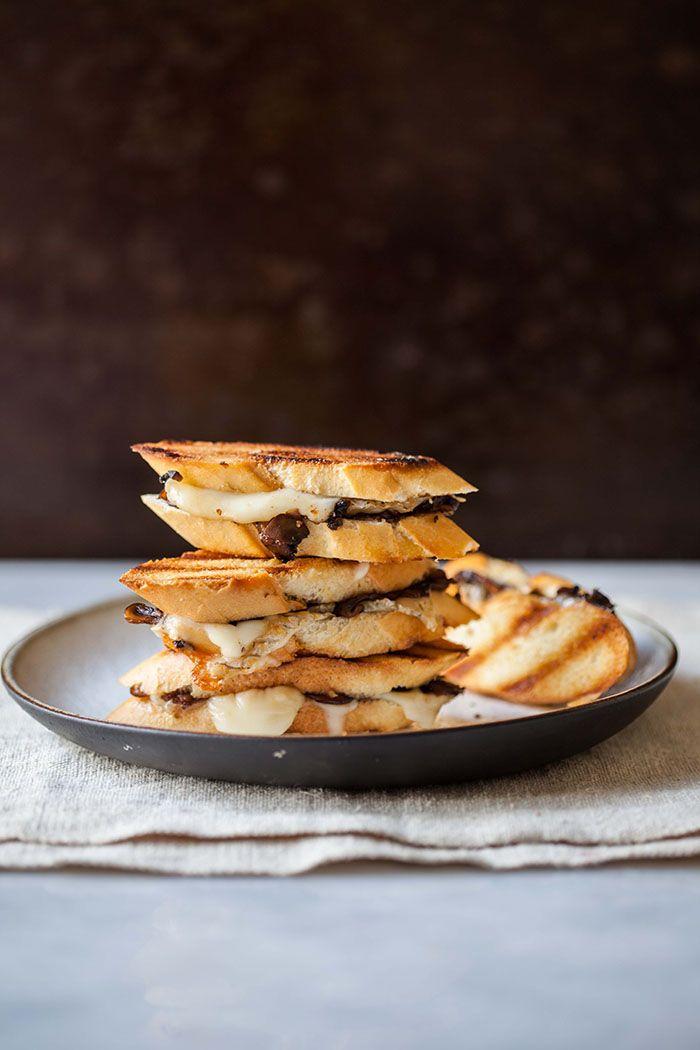 Truffled mushroom and taleggio cheese toasties + spot of steenberg luxury   DrizzleandDip.com