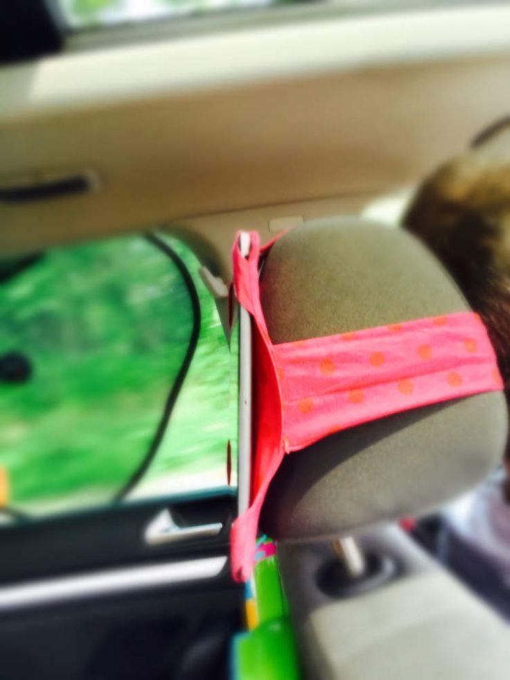 Housse iPad pour appuie -tête voiture